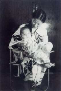 Children of the Revolution Fusako Shigenobu with baby May thumb